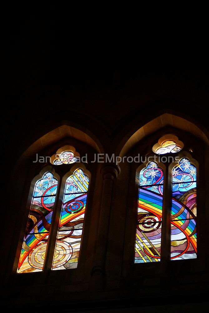 St Peter's Anglican Cathedral, Adelaide, window#1 by Jan Stead JEMproductions