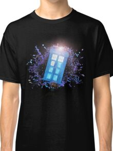 Wibbly-Wobbley Timey-Watercolor Classic T-Shirt