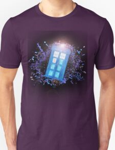 Wibbly-Wobbley Timey-Watercolor T-Shirt