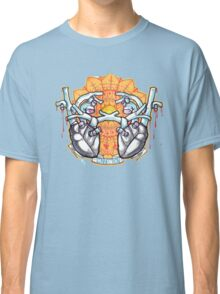two hearts connection, psychedelic sci-fi Classic T-Shirt