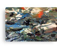 Dried Paint............ Metal Print