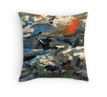 Dried Paint............ Throw Pillow