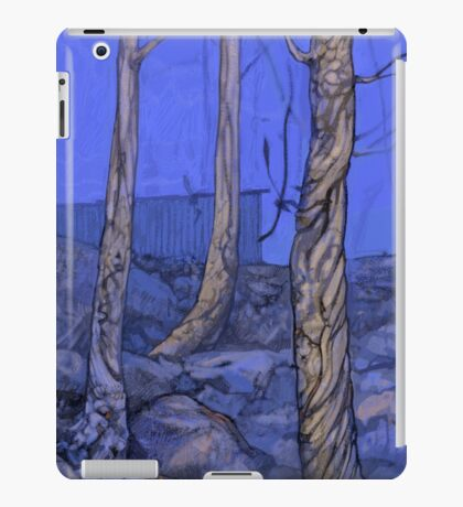 fire in the forest iPad Case/Skin
