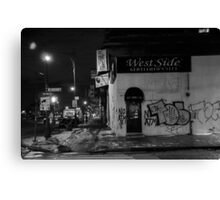 West side, innit! Canvas Print