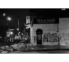 West side, innit! Photographic Print