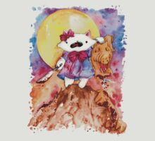 Hello Kitty Vs. Alf by drawingsbynicol