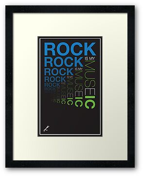Rock is My Museic by gmannoart