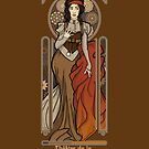 Steampunk Nouveau- Brown by miss-lys