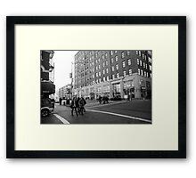Google building Framed Print