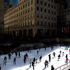 Rockefeller Center ice rink by Jean-Michel Dixte