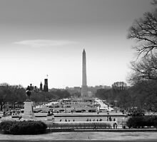 Washington DC from Capitol hill by Jean-Michel Dixte