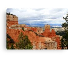 Bryce Canyon National Park,Utah USA...The Storm is coming Canvas Print
