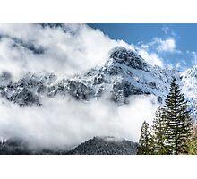 Majestic Mount Persis Photographic Print