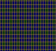 01269 Color Matrix Fashion Tartan Fabric Print Iphone Case by Detnecs2013