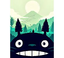 【7400+ views】Totoro Mountain Photographic Print