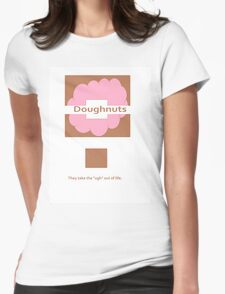 Doughnuts! Womens Fitted T-Shirt