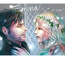 Captain swan 2 ouat Photographic Print