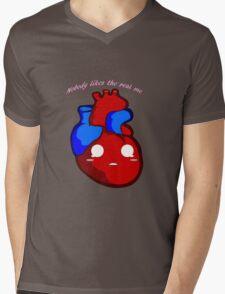 HeartBreaker Mens V-Neck T-Shirt