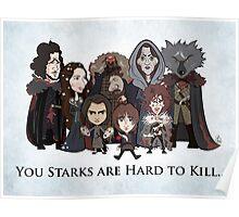 (Book 5 SPOILERS) Stark Family Portrait Poster