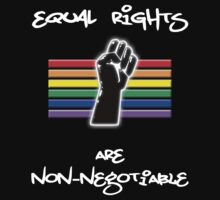 Equal Rights Are Non-Negotiable by Samuel Sheats