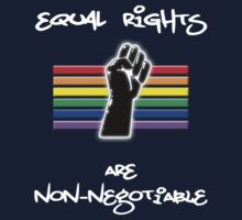 Equal Rights Are Non-Negotiable Kids Clothes