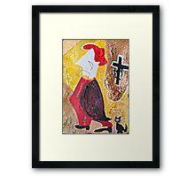 """Habemus Papam.....Amen. ! ! ! ? Hmm...Quo Vadis Domine ? by Andrzej Goszcz , Author:  Andrzej Goszcz , nickname """" Brown Sugar"""" Framed Print"""
