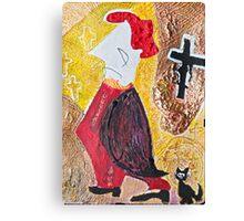 """Habemus Papam.....Amen. ! ! ! ? Hmm...Quo Vadis Domine ? by Andrzej Goszcz , Author:  Andrzej Goszcz , nickname """" Brown Sugar"""" Canvas Print"""
