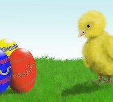 Easter Chick by SophiaDeLuna
