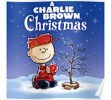 CHRISTMAS WITH CHARLIE BROWN TREE Poster