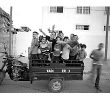 Gaza Children Photographic Print
