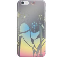 Musician in hole punched tin - very precious - please enlarge iPhone Case/Skin