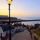 Whitby Steps by Greg Artis