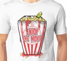 Zombie Popcorn Unisex T-Shirt