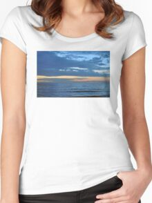 Blue Sea Women's Fitted Scoop T-Shirt