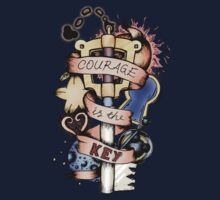 Courage Is The Key Kids Tee