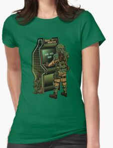 BUG HUNTER  Womens Fitted T-Shirt