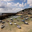 Mousehole Harbour by Greg Artis