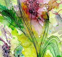 Watercolour flowers by rubystewart