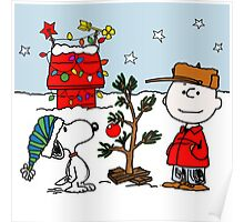 SNOOPY CHARLIE BROWN CHRISTMAS Poster