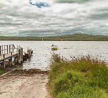 Poddy Shot Ramp, Wilson Inlet, Denmark, W.A. #4 by Elaine Teague