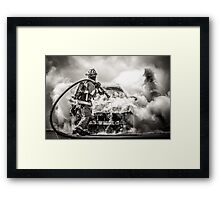 Death of the Beast Framed Print