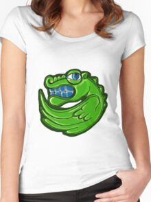 Green dragon Women's Fitted Scoop T-Shirt