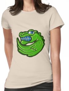 Green dragon Womens Fitted T-Shirt