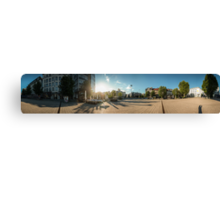 Wilhelmsplatz HD Panorama Canvas Print