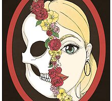 Skull Mirror Poster by jxwcrowley