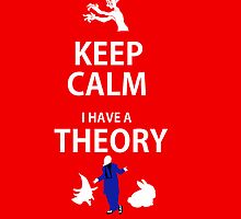 Keep Calm, I have a theory! by pokegirl93