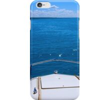 Boating, Torch Lake, Michigan iPhone Case/Skin