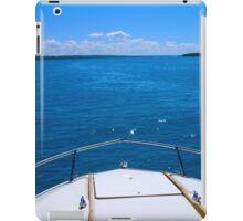 Boating, Torch Lake, Michigan iPad Case/Skin