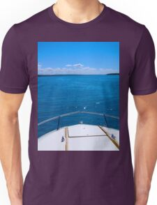 Boating, Torch Lake, Michigan Unisex T-Shirt