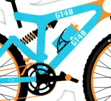 Mountain Bike Sticker